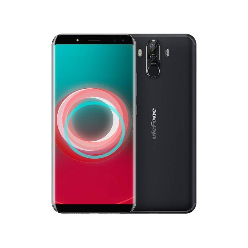 Mobilný telefón UleFone Power 3S Dual SIM (6937748732266) čierny