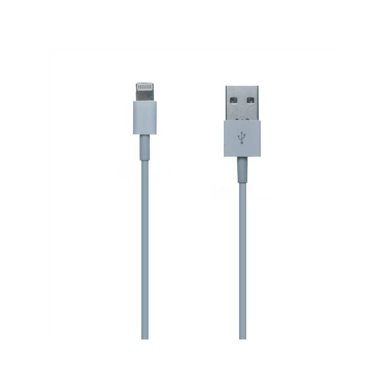 Kábel Connect IT USB/Lightning, 1m (CI-159) biely