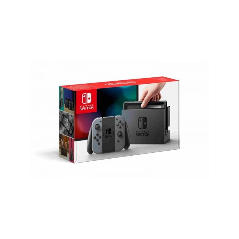 Herná konzola Nintendo Switch s Joy-Con - šedá (NSH001) sivá + Doprava zadarmo