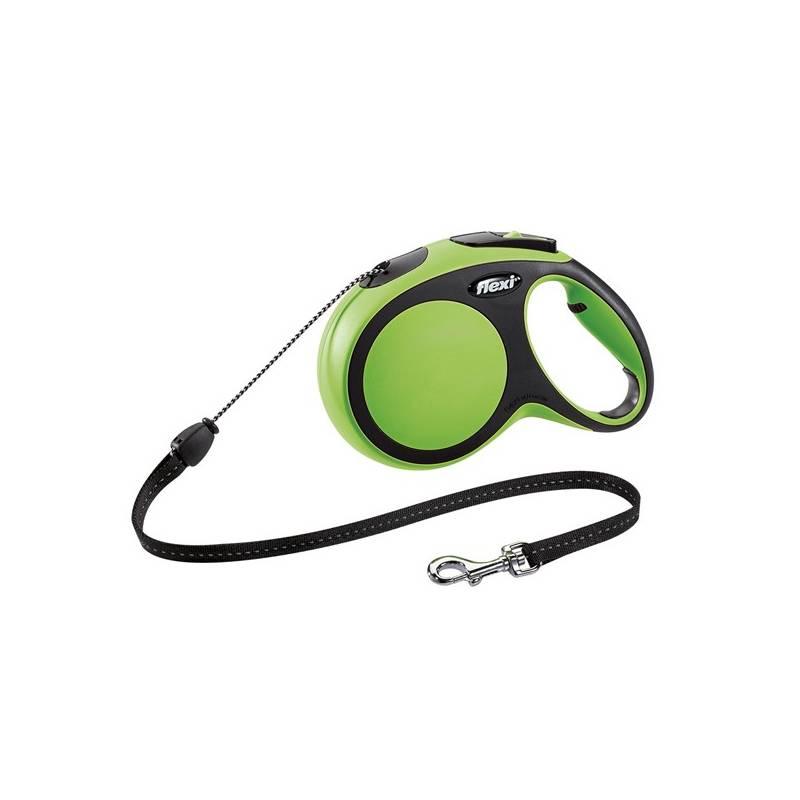 Vodítko Flexi Comfort M Lanko 8m/20kg zelené