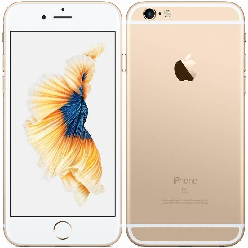 Mobilný telefón Apple iPhone 6s 128GB - Gold (MKQV2CN/A) + Extra zľava 3 % | kód 3HOR2020
