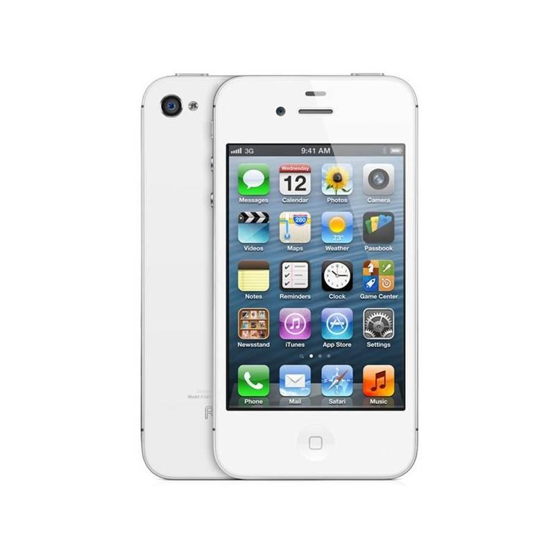 Mobilný telefón Apple iPhone 4S 16GB (MD239CS A) biely  df3f9974420