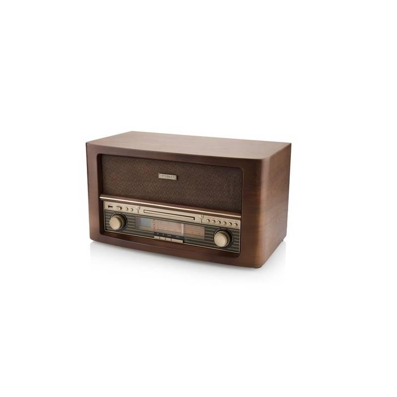 Rádioprijímač s CD Hyundai RC503URIP drevený