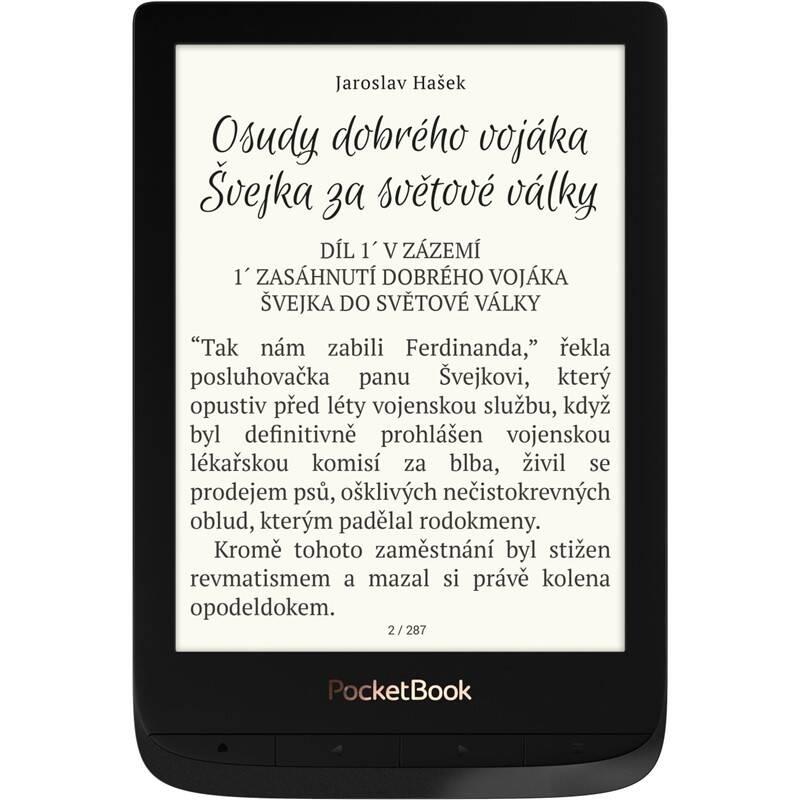 Čítačka kníh Pocket Book 627 Touch Lux 4 (PB627-H-WW) čierna + Doprava zadarmo