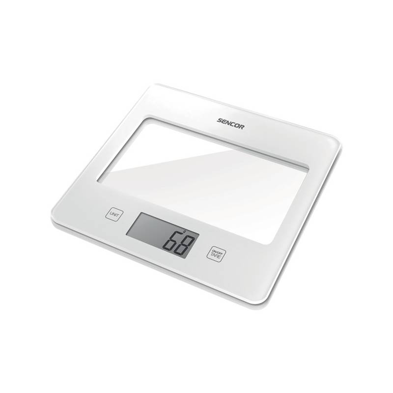 Kuchynská váha Sencor SKS 5020WH biela