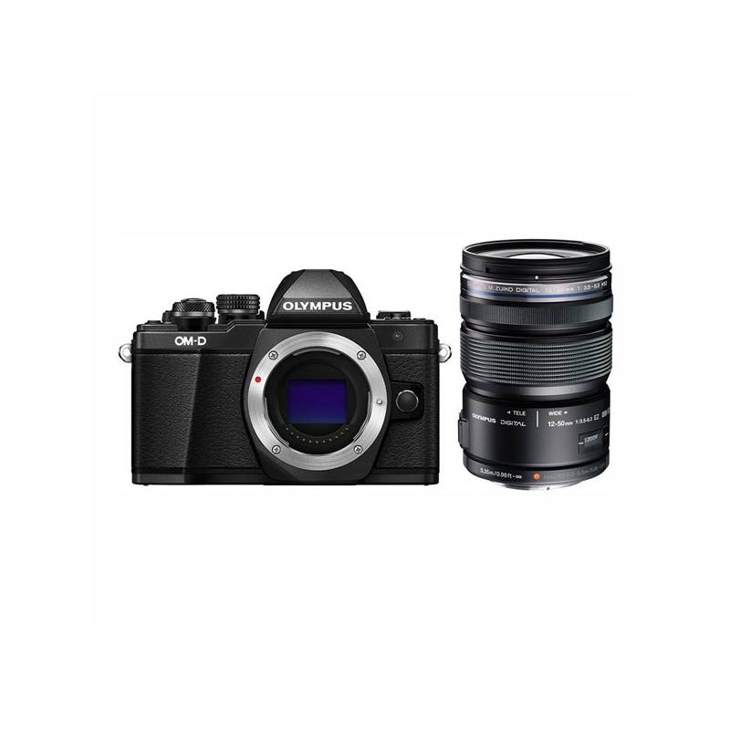 Digitálny fotoaparát Olympus E-M10 II 1250 + objektiv 12-50mm 3,5-6,3 (V207050BE010) čierny + Doprava zadarmo