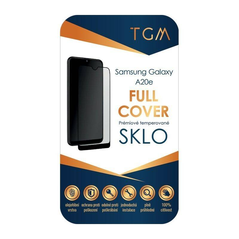 Ochranné sklo TGM Full Cover na Samsung Galaxy A20e (TGMSGA20E)