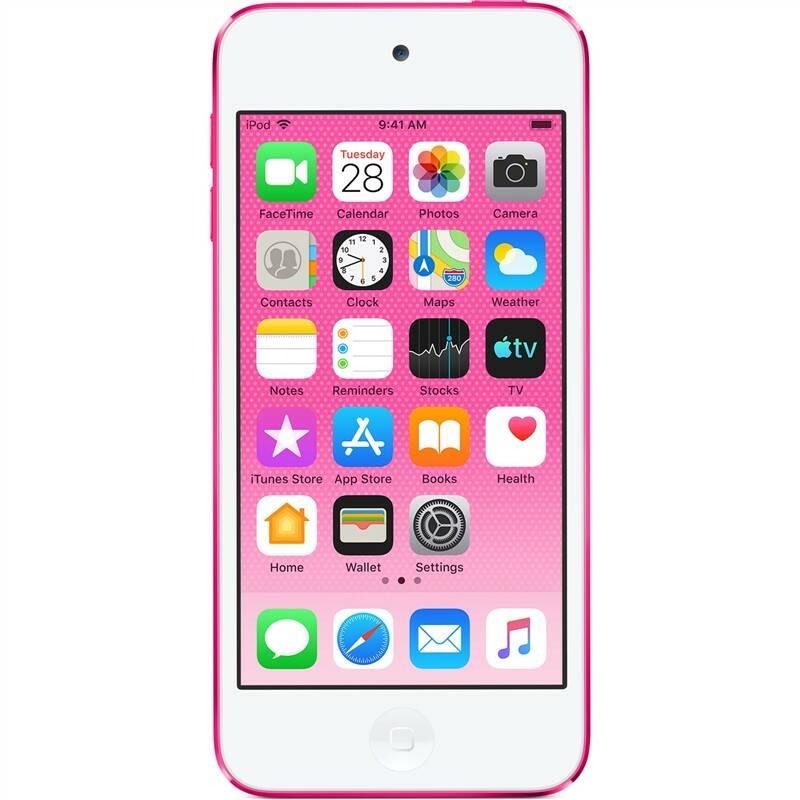 MP3 přehrávač Apple iPod touch 128GB (MVHY2HC/A) růžový