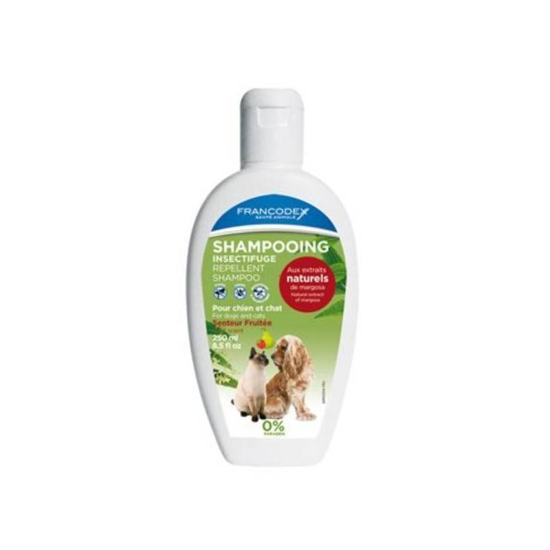 Šampón Francodex repelentní Fruity pes, kočka 250 ml