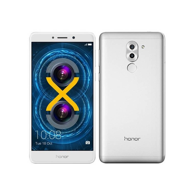 Mobilný telefón Honor 6x (51091CFF) strieborný