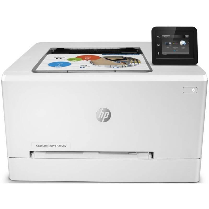 Tlačiareň laserová HP Color LaserJet Pro M255dw (7KW64A#B19) biely + Doprava zadarmo