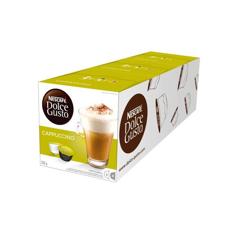 Kapsule pre espressa Nescafé Dolce Gusto Cappuccino 3 balení