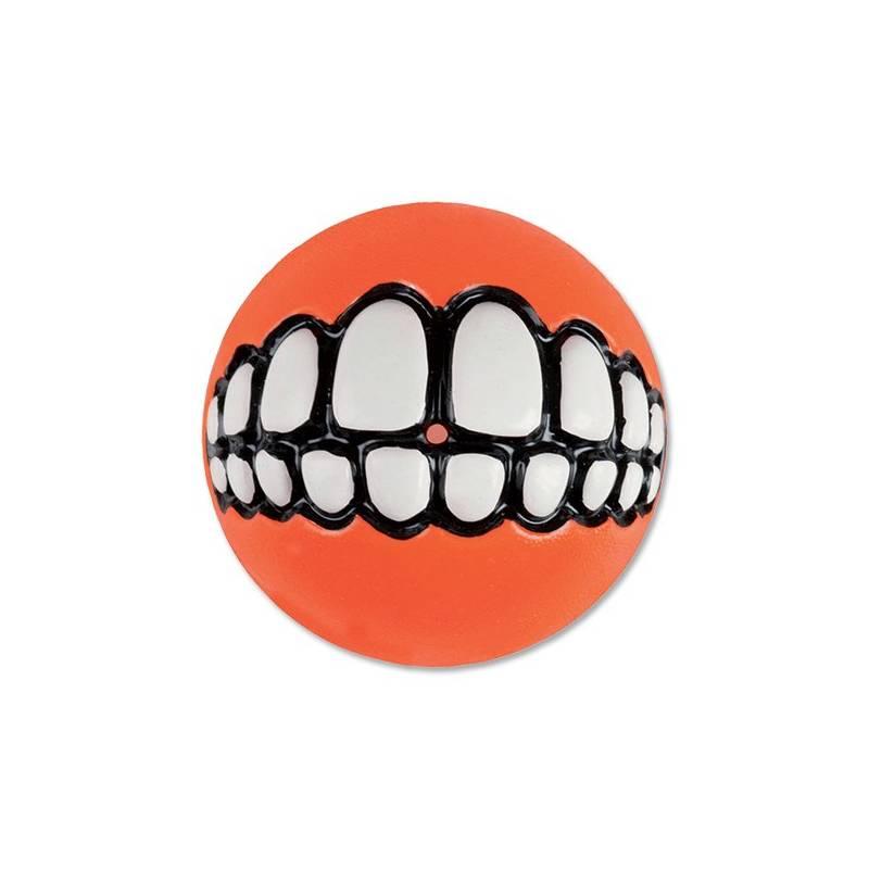 Hračka Rogz Grinz míček 6,4cm oranžová