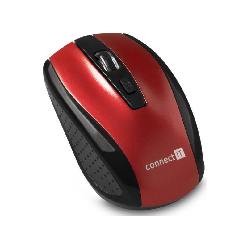 Myš Connect IT CI-1224 (CI-1224) červená