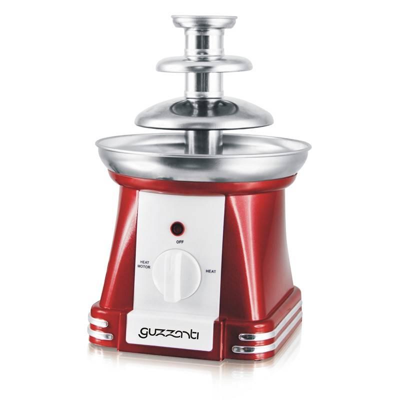 Výrobník čokolády Guzzanti GZ 250 červený