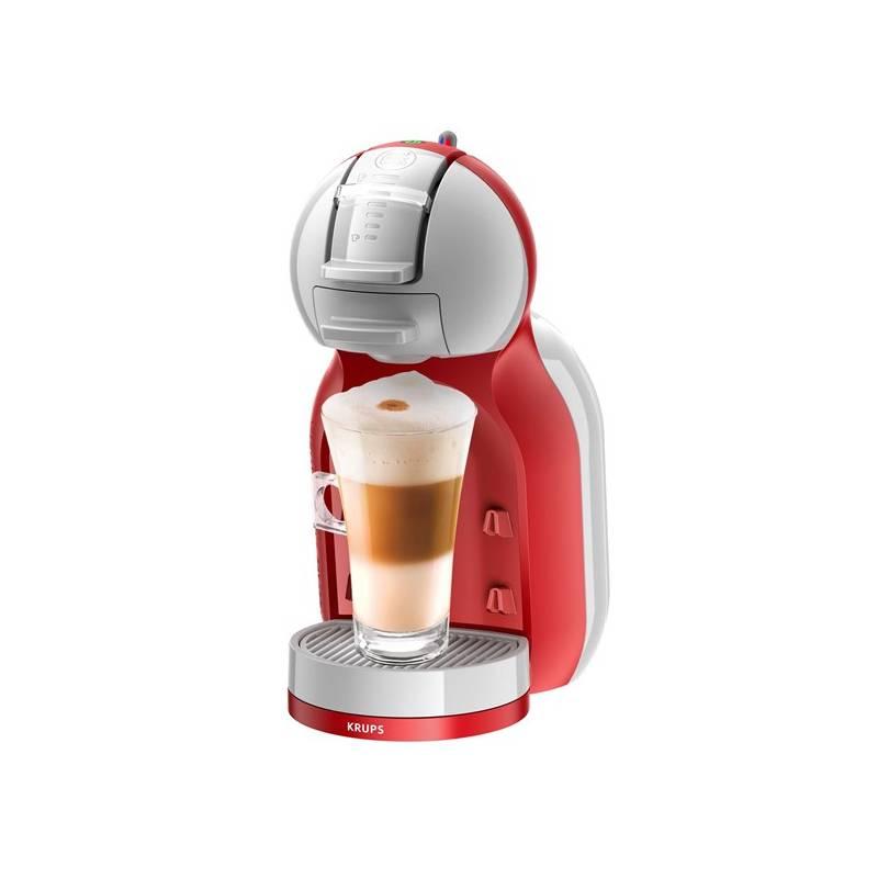 Espresso Krups NESCAFÉ® Dolce Gusto™ Mini Me KP1205CS sivé/červené