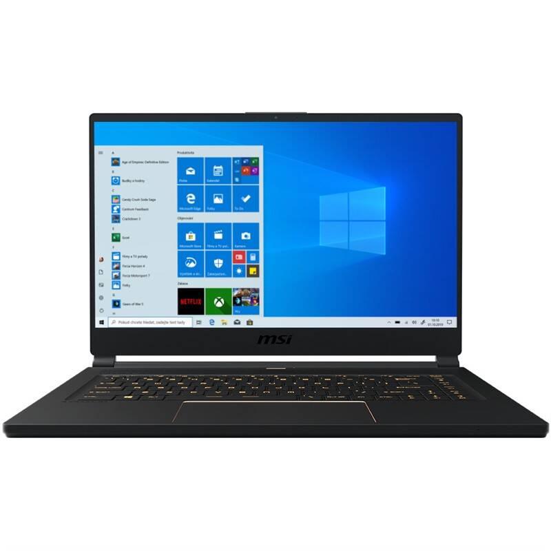 Notebook MSI GS65 Stealth 9SE (GS65 Stealth 9SE-854CZ) čierny
