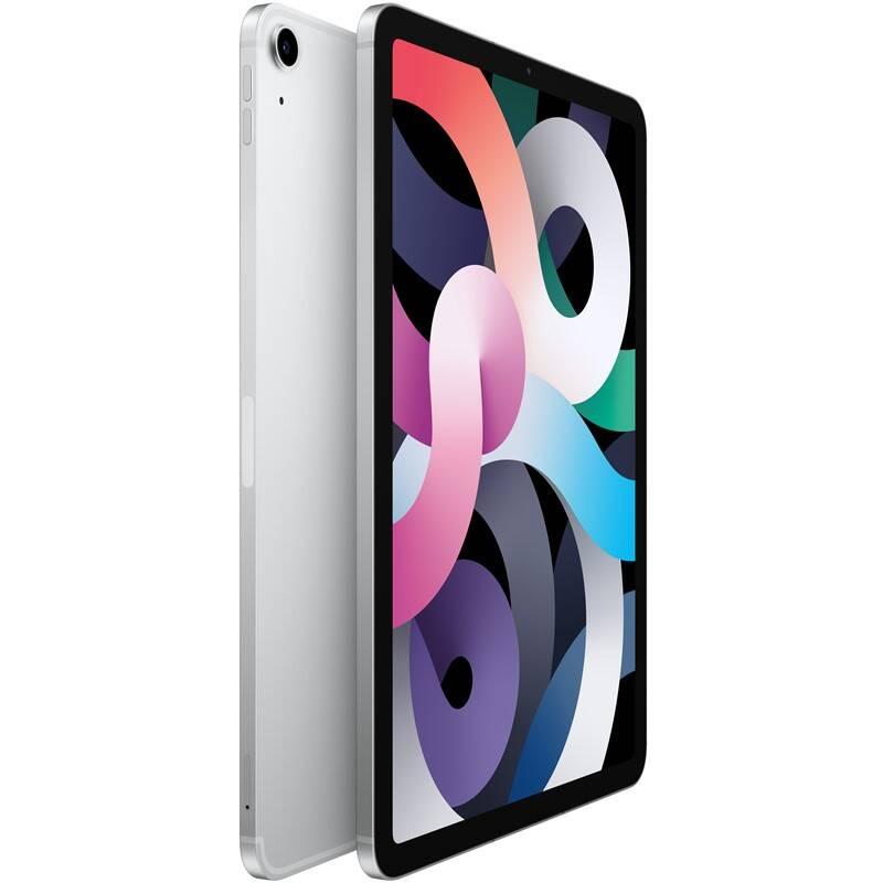Tablet Apple iPad Air (2020) Wi-Fi + Cellular 64GB - Silver (MYGX2FD/A)