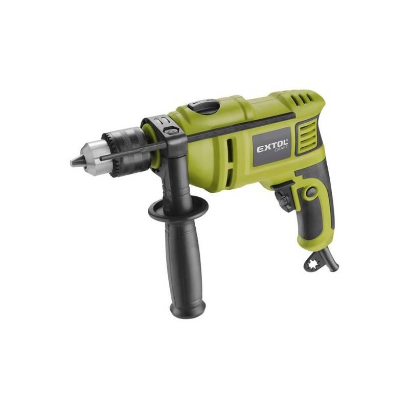 Príklepová vŕtačka EXTOL Craft 401163 zelená
