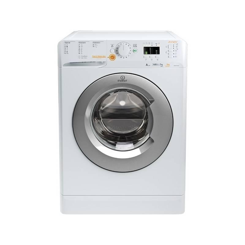 Automatická práčka so sušičkou Indesit Innex XWDA 751480X WSSS EU biela + Doprava zadarmo