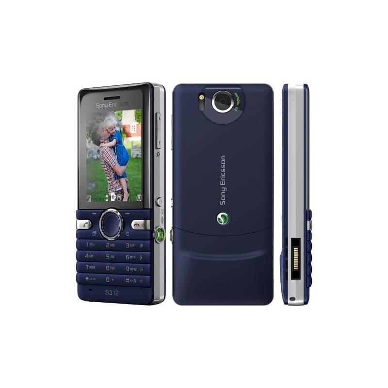 Mobilní telefon Sony S312 (1223-6578) modrý  42efcb429a3