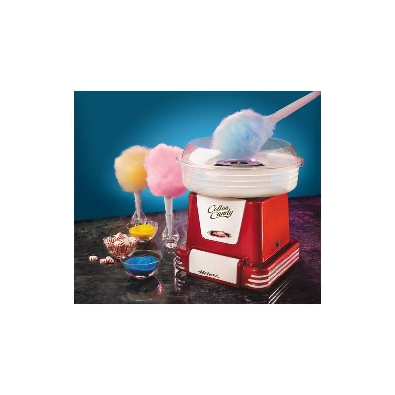 Výrobník cukrovej vaty Ariete Party Time ART 2971 červený + Doprava zadarmo