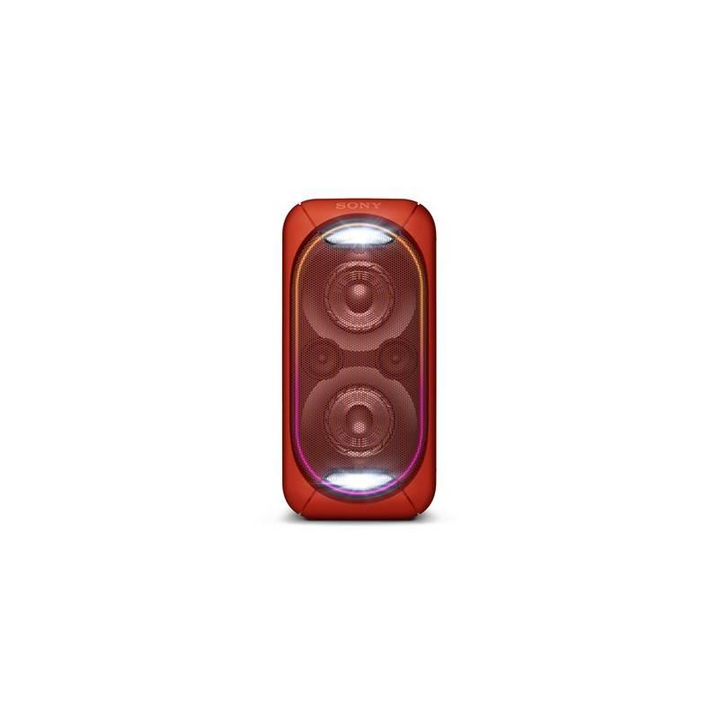 Párty reproduktor Sony GTK-XB60R červený + Doprava zadarmo