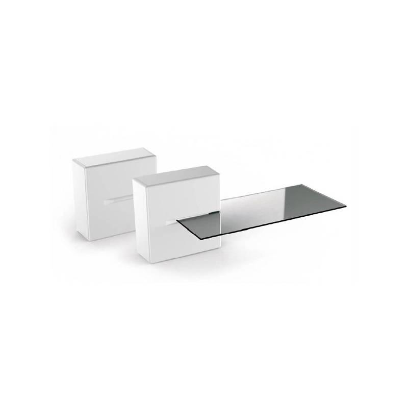 Organizér na káble Meliconi GHOST CUBE Shelf (480522 BA) biely