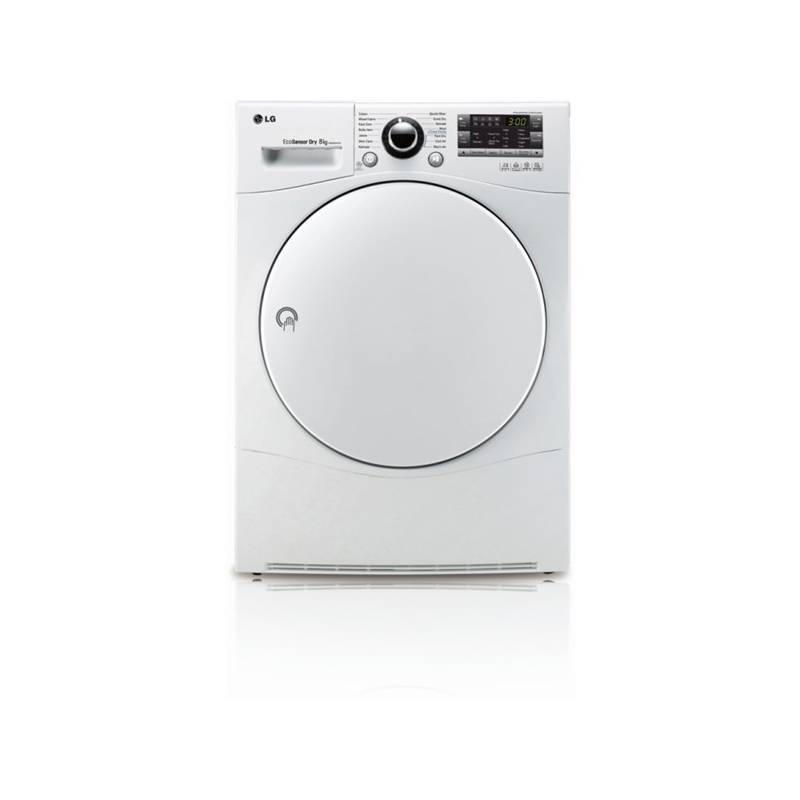 Sušička bielizne LG RC8055AH1Z biela + Doprava zadarmo