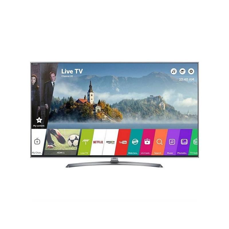 Televízor LG 49UJ7507 strieborná/Titanium + Doprava zadarmo