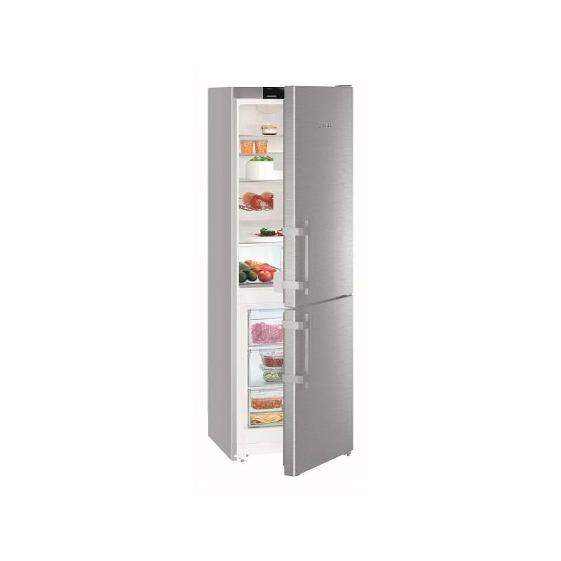Kombinácia chladničky s mrazničkou Liebherr CUef 3515 nerez + Doprava zadarmo