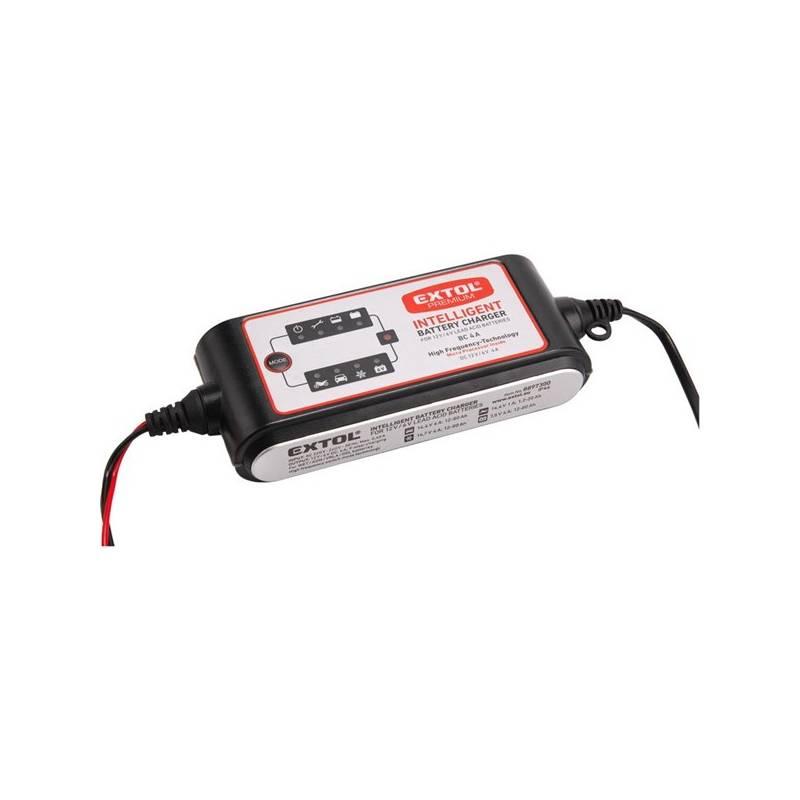 Nabíjačka autobatérií EXTOL Premium 4 A