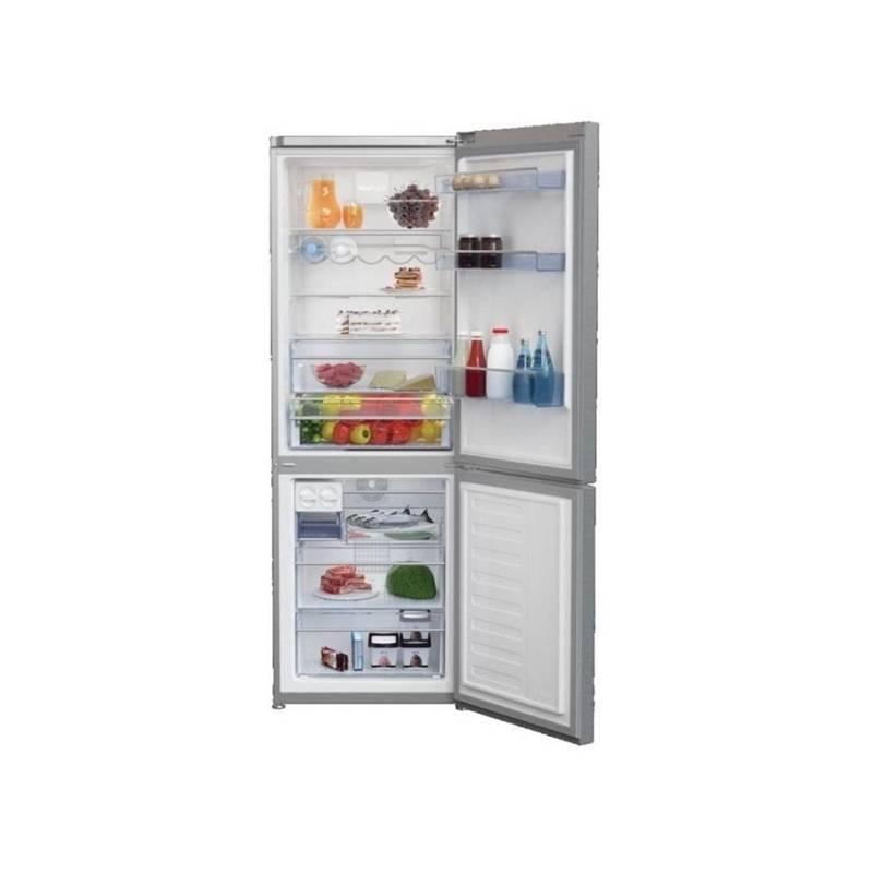 Kombinácia chladničky s mrazničkou Beko CNA 365 EE0ZX nerez + Doprava zadarmo