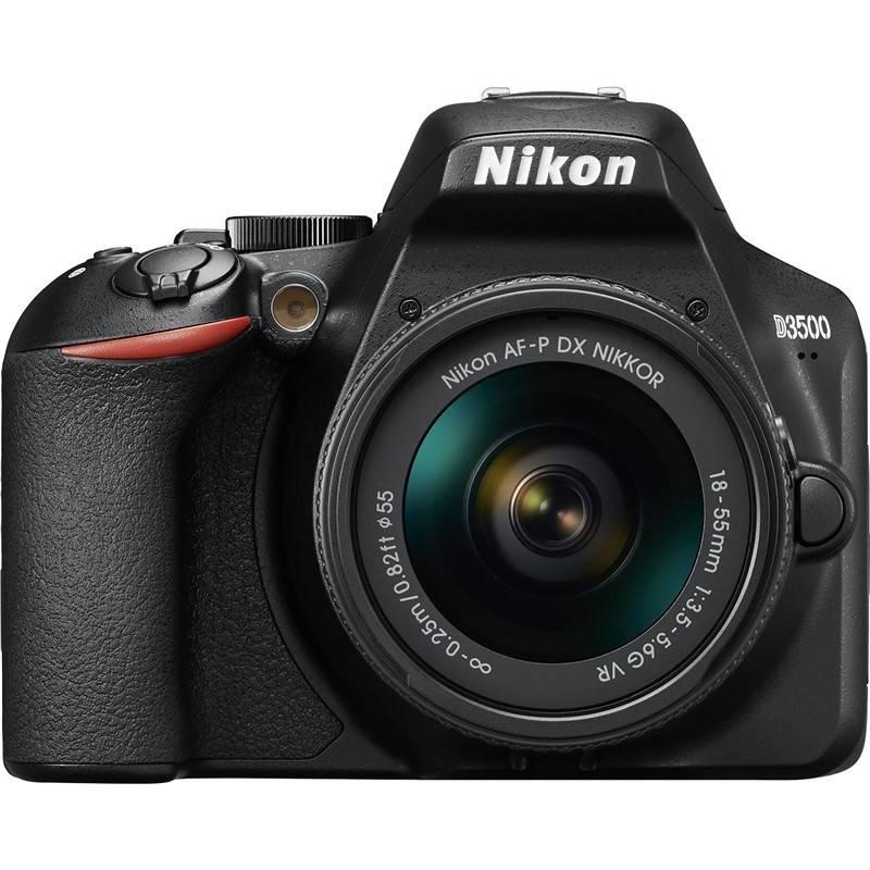 Digitálny fotoaparát Nikon D3500 + AF-P DX 18-55mm VR (VBA550K001) čierny + Doprava zadarmo