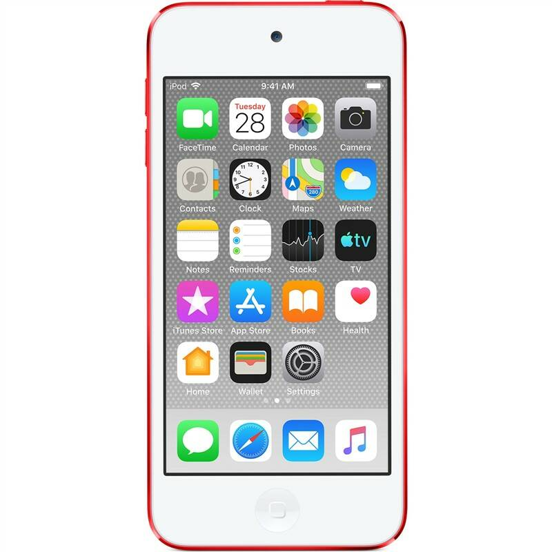 MP3 přehrávač Apple iPod touch 128GB (MVJ72HC/A) červený