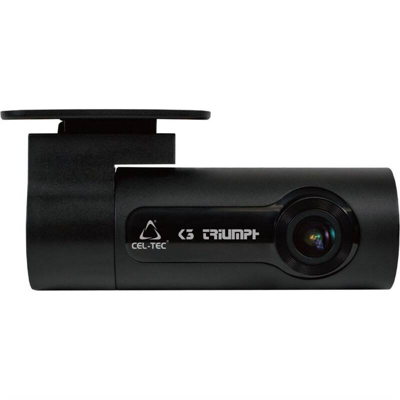 Autokamera CEL-TEC K3 Triumph Wi-Fi čierna + Extra zľava 5 % | kód 5HOR2020