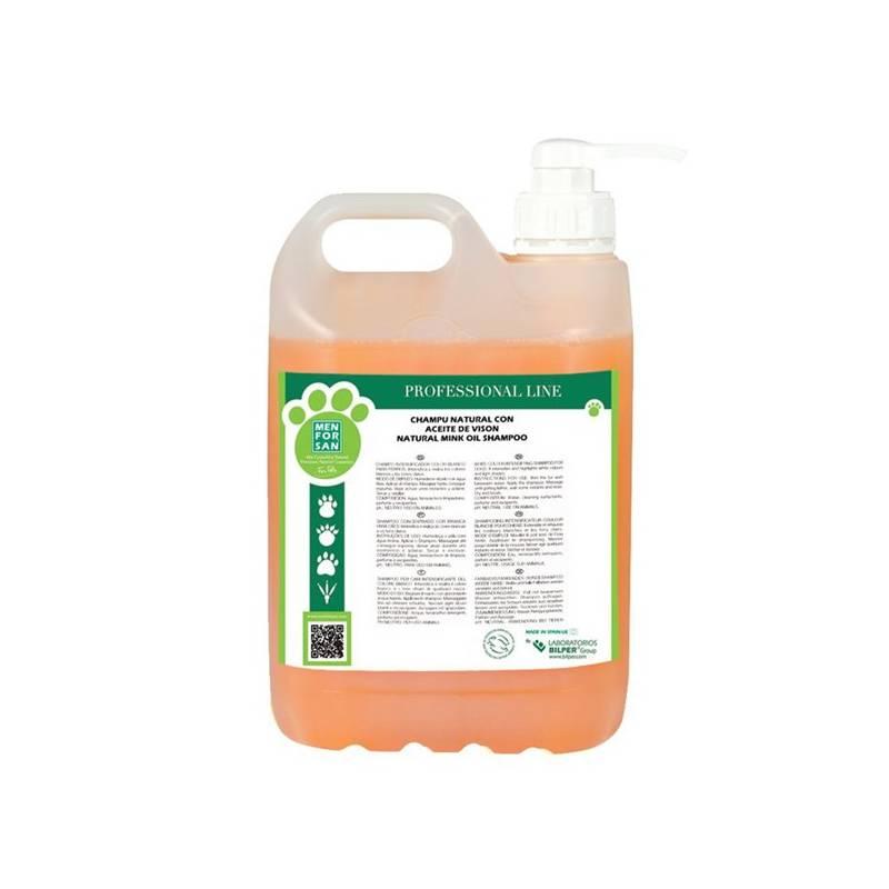 Šampón Menforsan ochranný s norkovým olejem 5000 ml