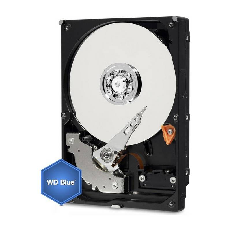 "Pevný disk 3,5"" Western Digital Blue 6TB, SATA III, 5400rpm, 64MB cache (WD60EZRZ)"