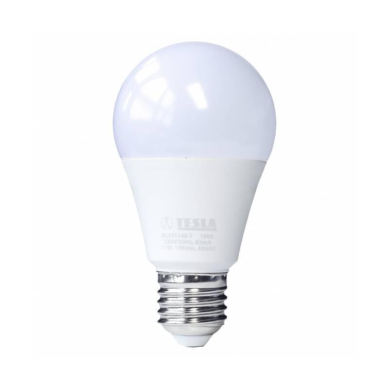 LED žiarovka Tesla klasik, 11W, E27, denní bílá (BL271140-7)
