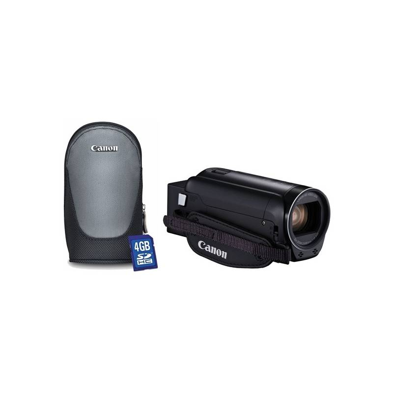 Videokamera Canon R806 Essential Kit + pouzdro + karta (1960C015) čierna