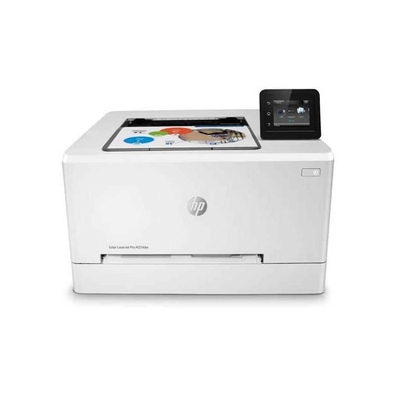 Tiskárna laserová HP LaserJet Pro M254dw (T6B60A#B19) bílá