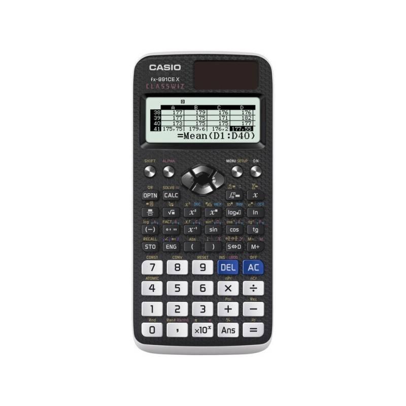 Kalkulačka Casio ClassWiz FX 991 CE X (FX 991 CE X) čierna