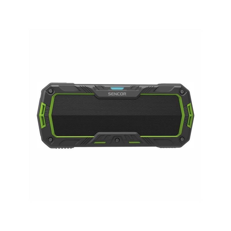 Prenosný reproduktor Sencor SSS 1100 (35049804) čierny/zelený
