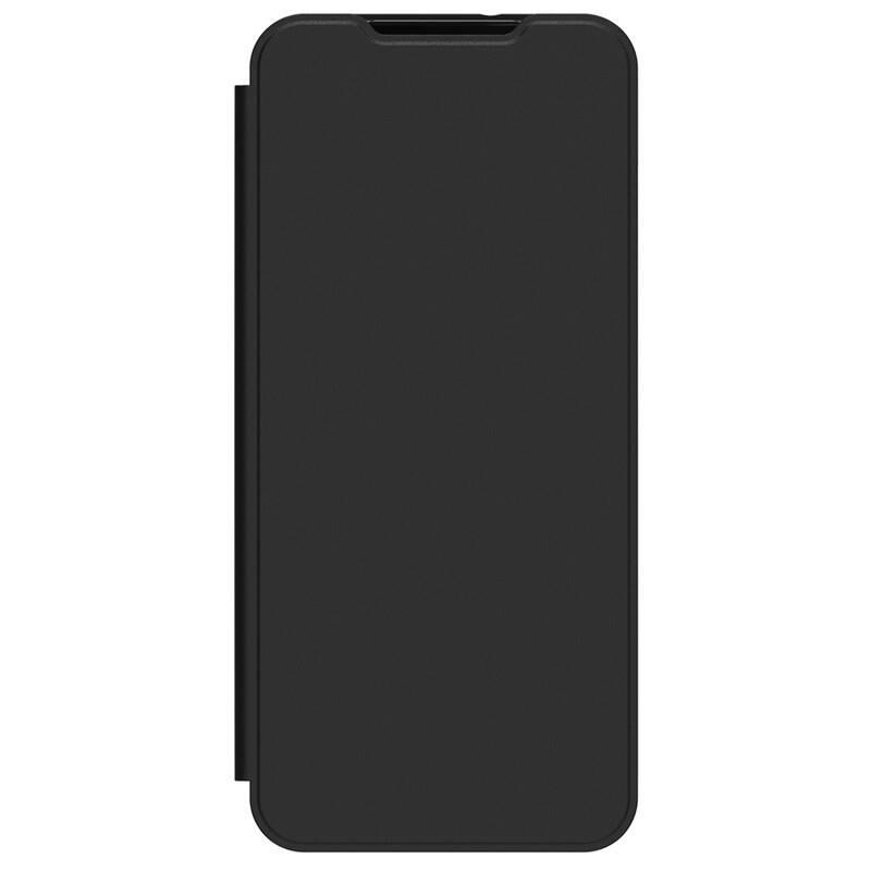 Púzdro na mobil flipové Samsung Galaxy A12 (GP-FWA125AMABW) čierne