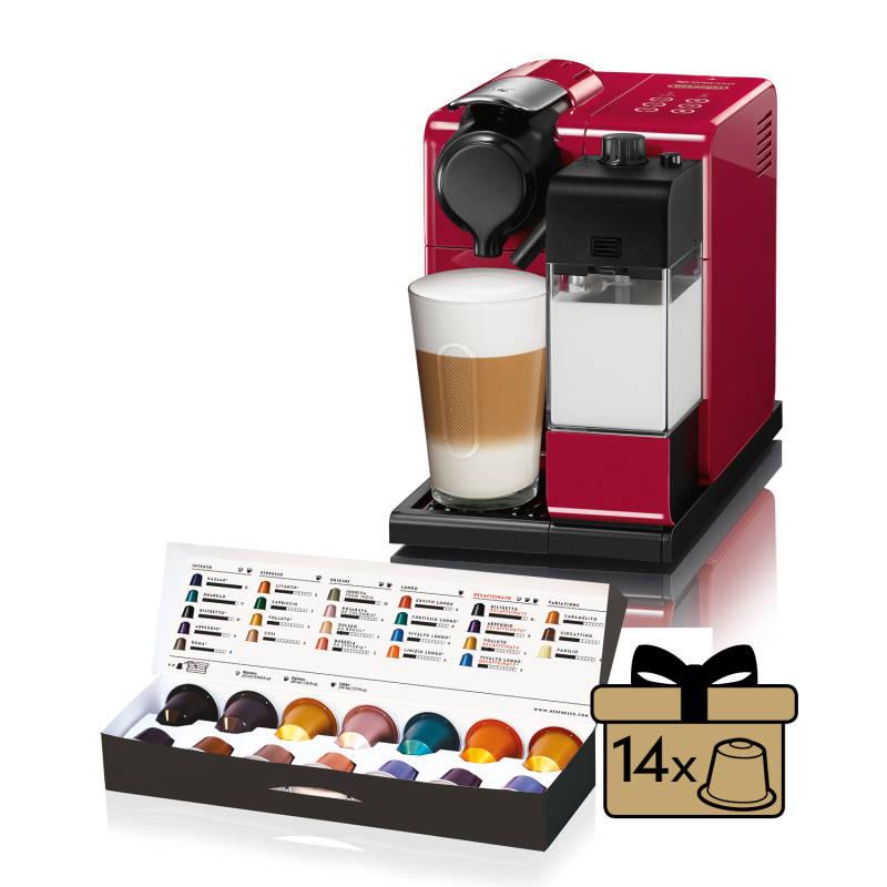 Espresso DeLonghi Nespresso Lattissima Touch EN550.R červené + Doprava zadarmo