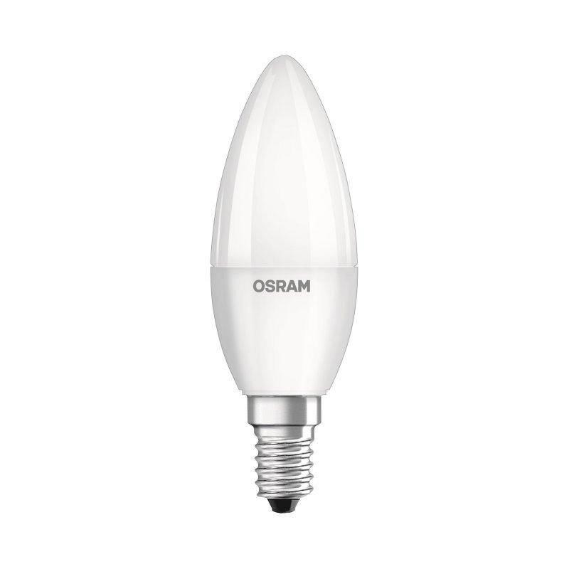 LED žiarovka Osram E14, 5,7 W, studená bílá 6500K