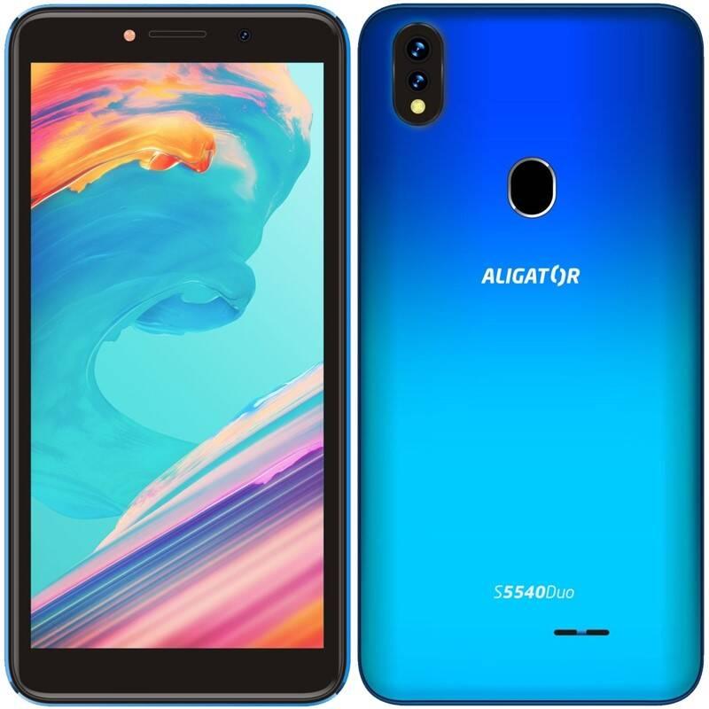 Mobilný telefón Aligator S5540 Dual SIM (AS5540BE) modrý