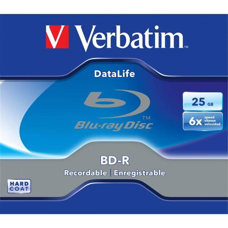 Disk Verbatim BD-R DL 25GB 6x, 1 ks (43836) + Doprava zadarmo
