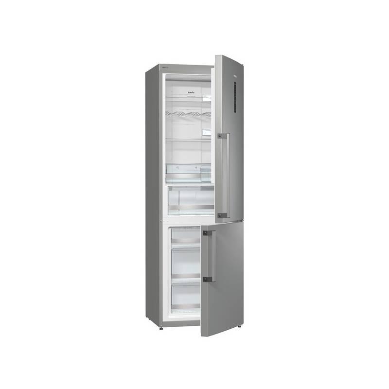Kombinácia chladničky s mrazničkou Gorenje Superior NRK6192TX Inoxlook + Doprava zadarmo