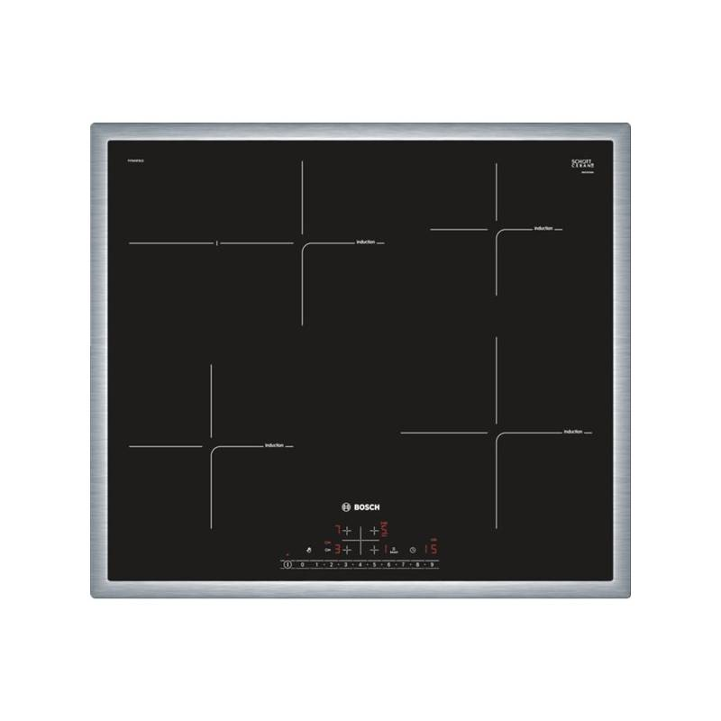 Indukční varná deska Bosch PIF645FB1E černá/nerez